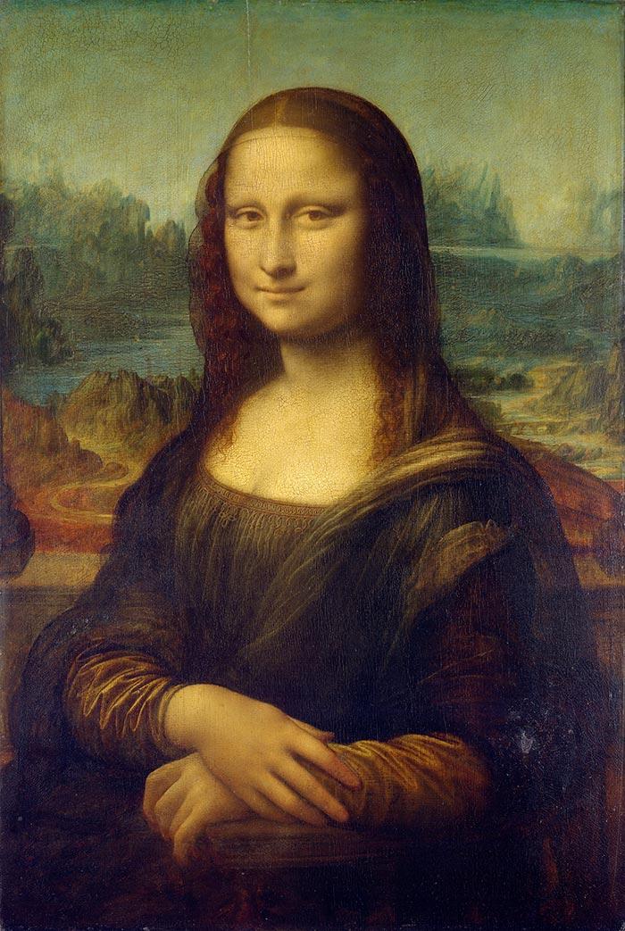 Leonardo da Vinci, Mona Lisa, c.1503–06