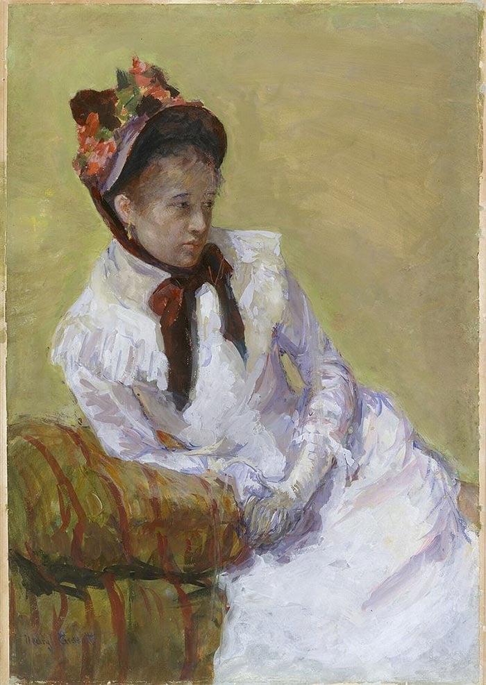 Mary Cassatt, Portrait of the Artist, 1878