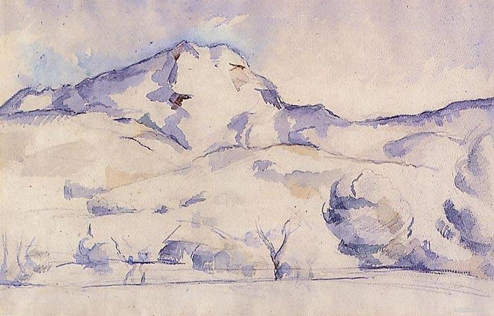 Paul Cézanne, Mont Sainte-Victoire, 1887
