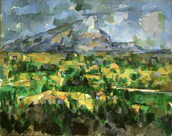 Paul Cézanne, Mont Sainte-Victoire, 1902-1904