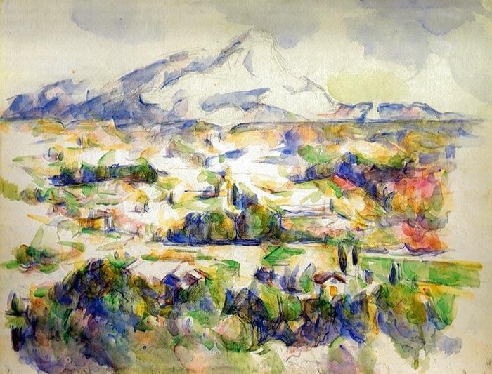 Paul Cézanne, Mont Sainte-Victoire, 1906