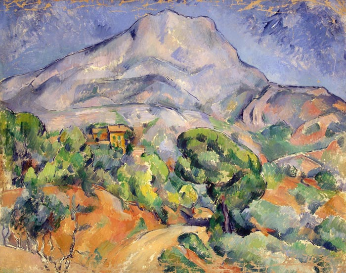 Paul Cézanne, Road at the Mont Sainte-Victoire, 1902