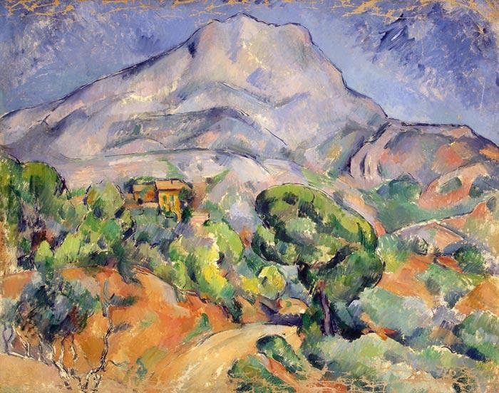 Paul Cézanne, Road at the Mont Sainte-Victoire, 1902