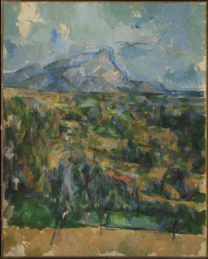 Paul Cézanne, Mont Sainte-Victoire, 1904-1906