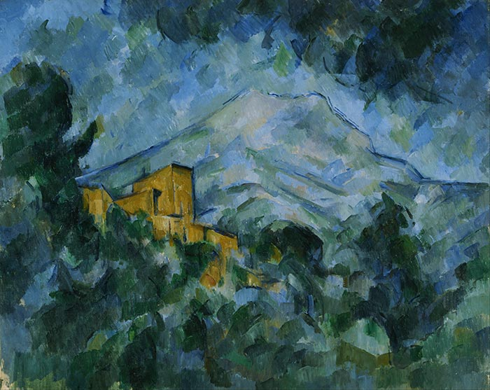 Paul Cézanne, Mont Sainte-Victoire and Château Noir, 1904-1906