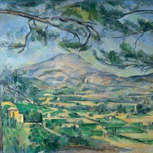 Paul Cézanne, Mont Sainte-Victoire with Large Pine, c.1887