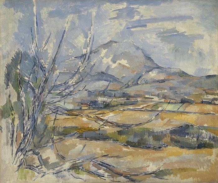 Paul Cézanne, Montagne Sainte-Victoire, 1890
