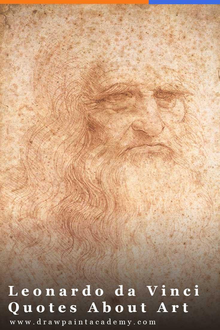 Leonardo da Vinci Quotes About Art. #drawpaintacademy