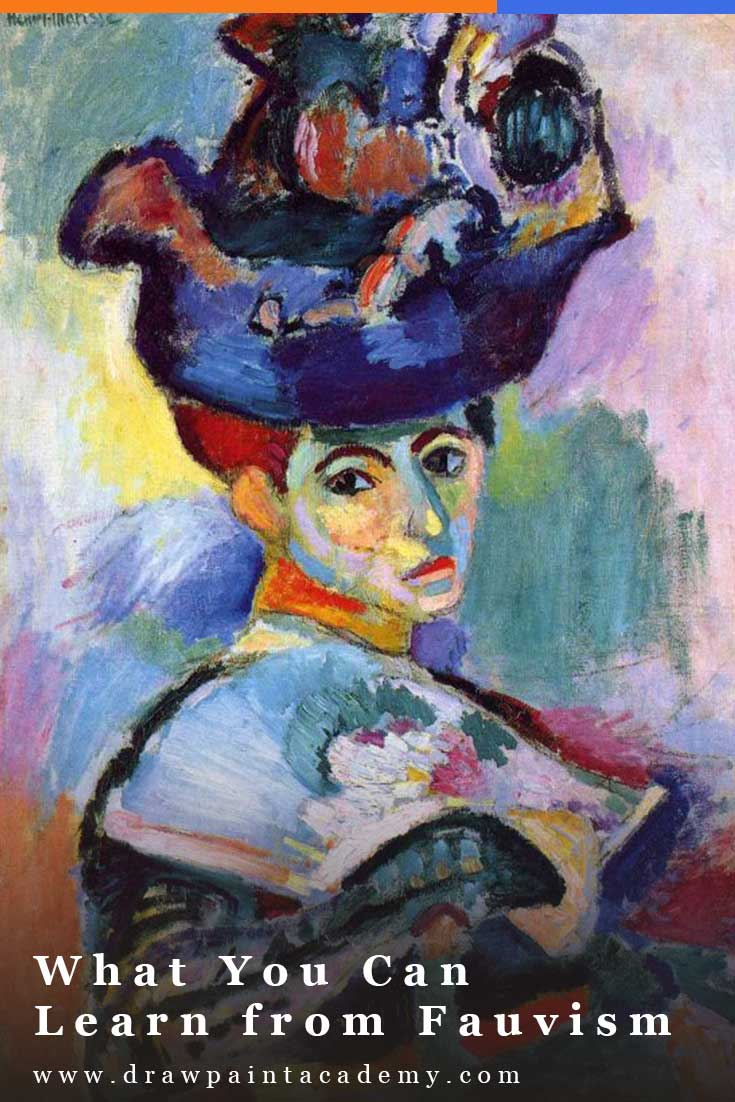 Fauvism Art Movement. Fauvism was an art movement from the 20th Century which provided interesting developments in the use of color, brushwork and abstraction. It was founded by a small group of French artists which included Henri Matisse, André Derain, Georges Braque and Maurice de Vlaminck. #drawpaintacademy