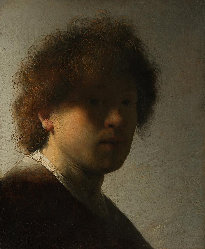 Rembrandt, Self Portrait as a Young Man, 1628