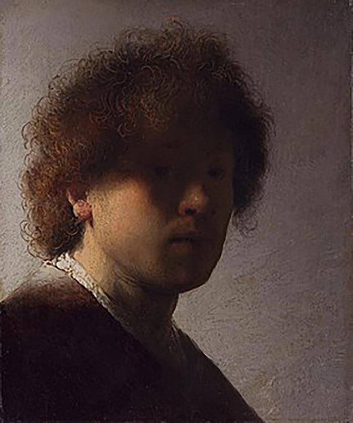 Rembrandt van Rijn, A Young Rembrandt, 1628