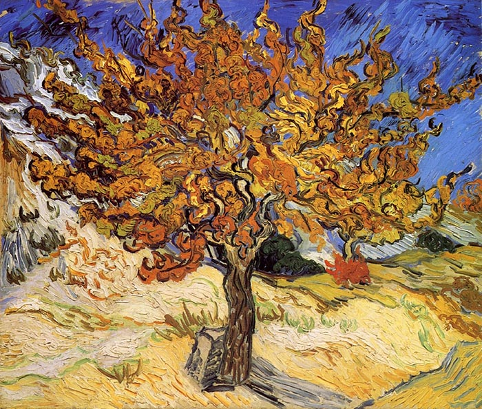 Vincent van Gogh, Mulberry Tree, 1889
