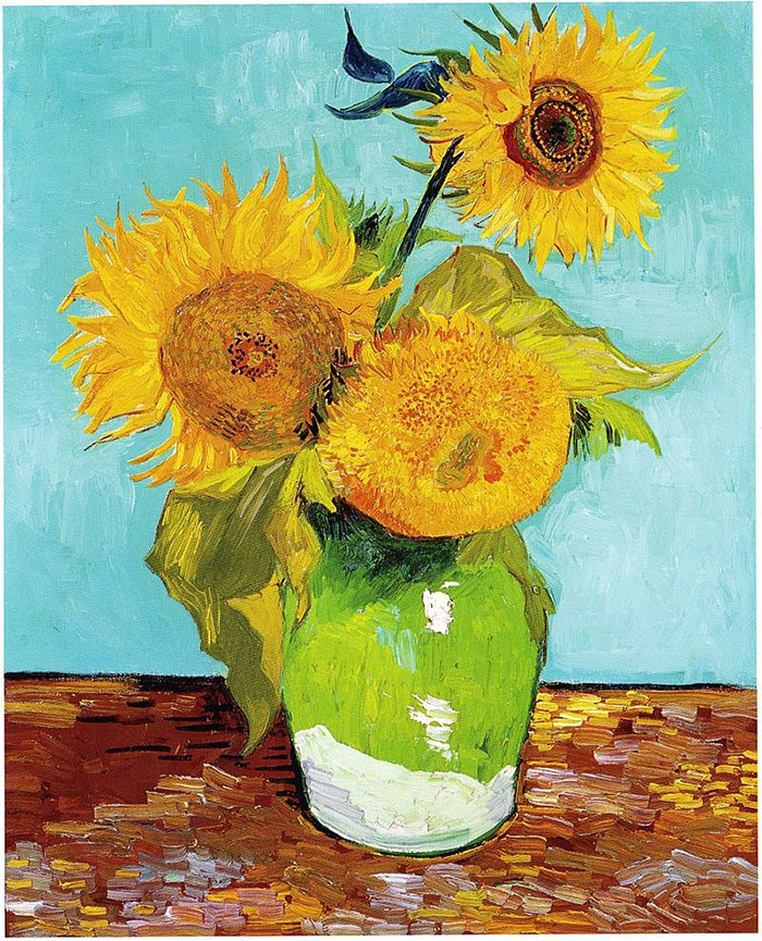 Vincent van Gogh, The Arles Sunflowers, 1888 (First Version)