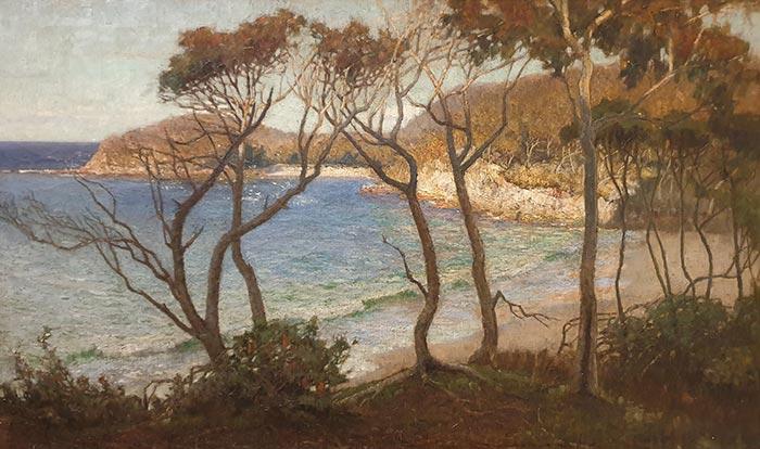 Albert Hanson, Pacific Beaches, 1898