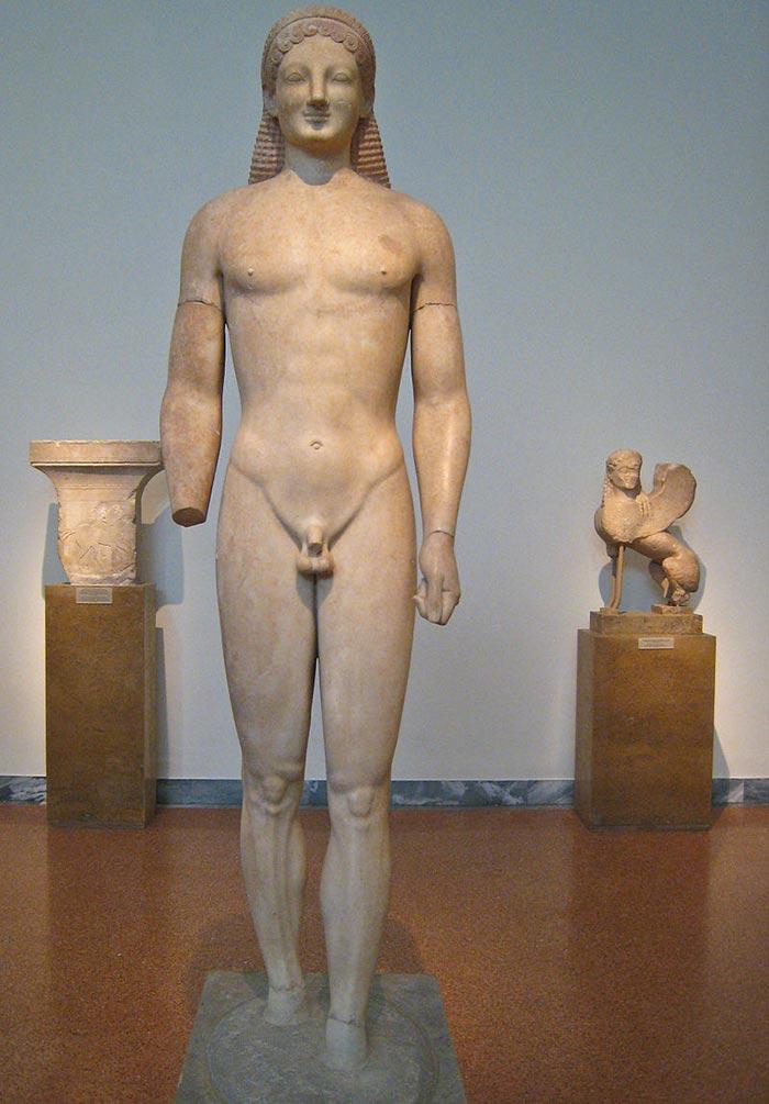 Anon, Kouros from Merenda, c.530 BC