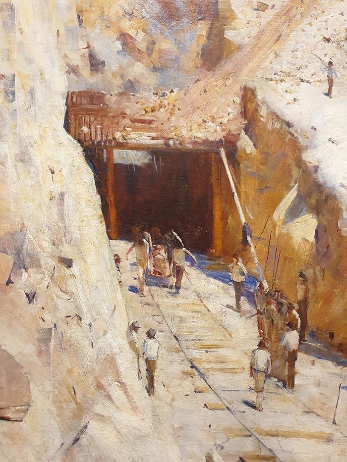 Arthur Streeton, Fire's On, 1891 (2)