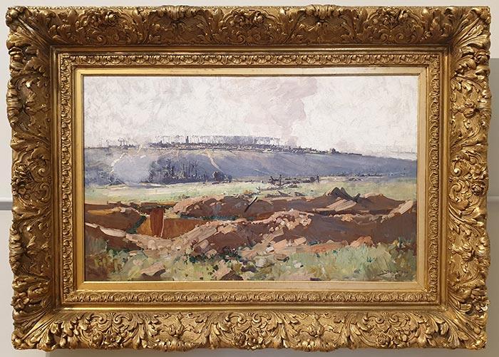 Arthur Streeton, Villers-Bretonneux, 1918