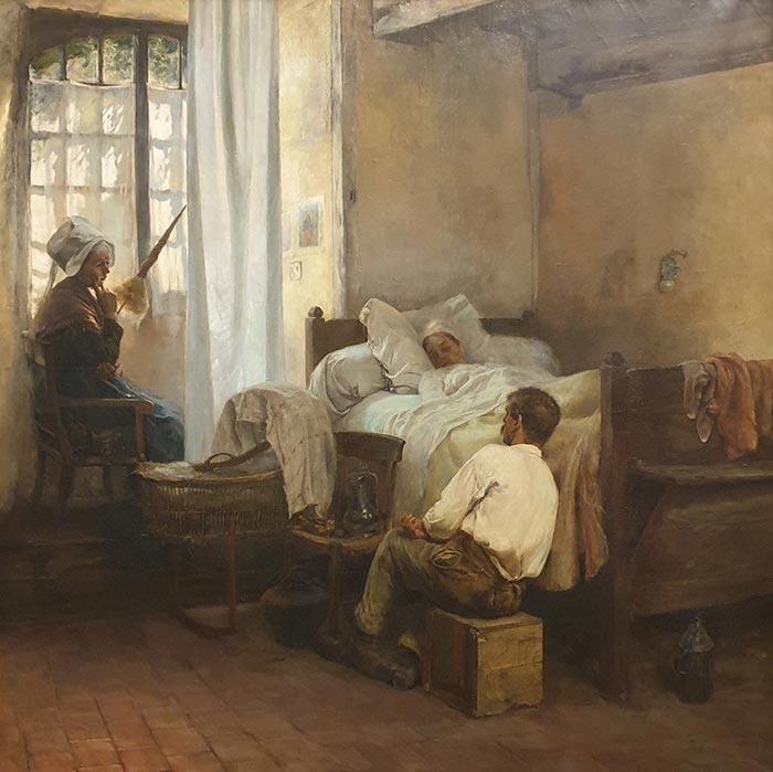 Gaston La Touche, The First Born, 1887