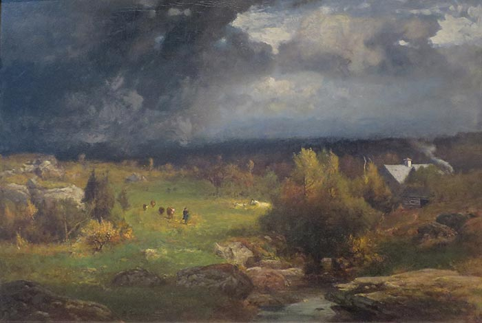George Inness, Close of a Stormy Day, c.1881-1882
