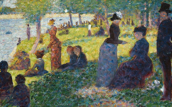 Georges Seurat, Oil Sketch for La Grande Jatte, 1884