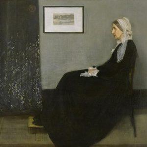James Abbott McNeill Whistler, Whistler's Mother, 1871