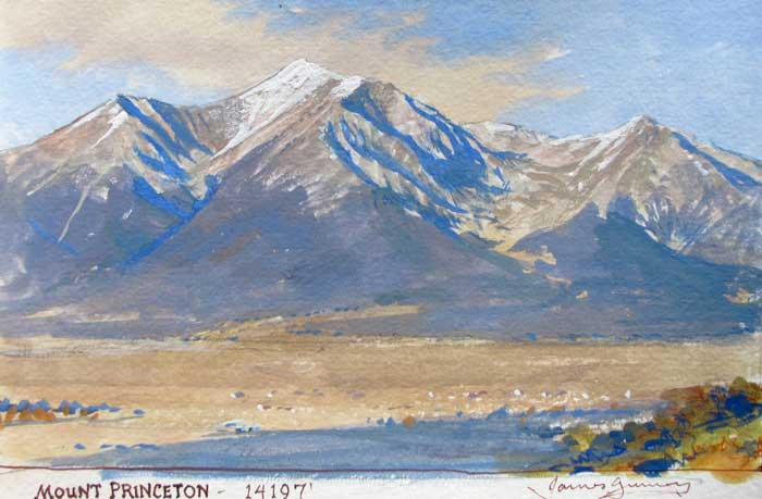 James Gurney, Mount Princeton