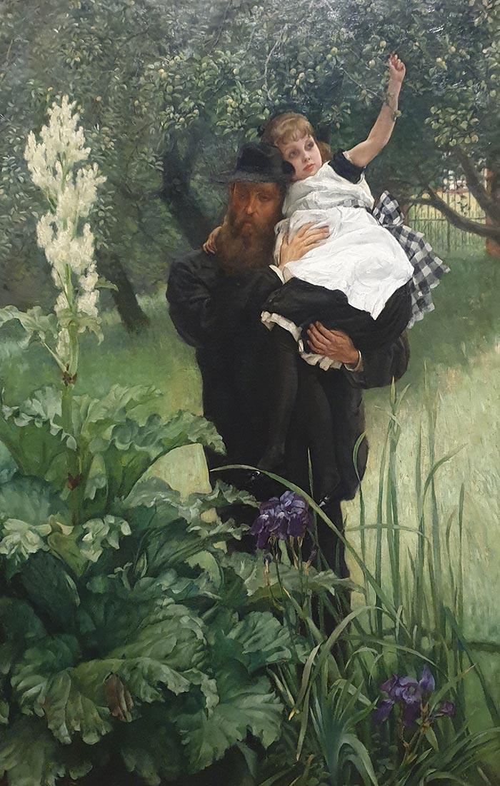 James Tissot, The Widower, 1876