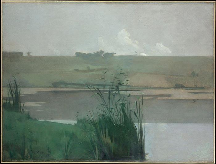 John Henry Twachtman, Arques-La-Bataille, 1885
