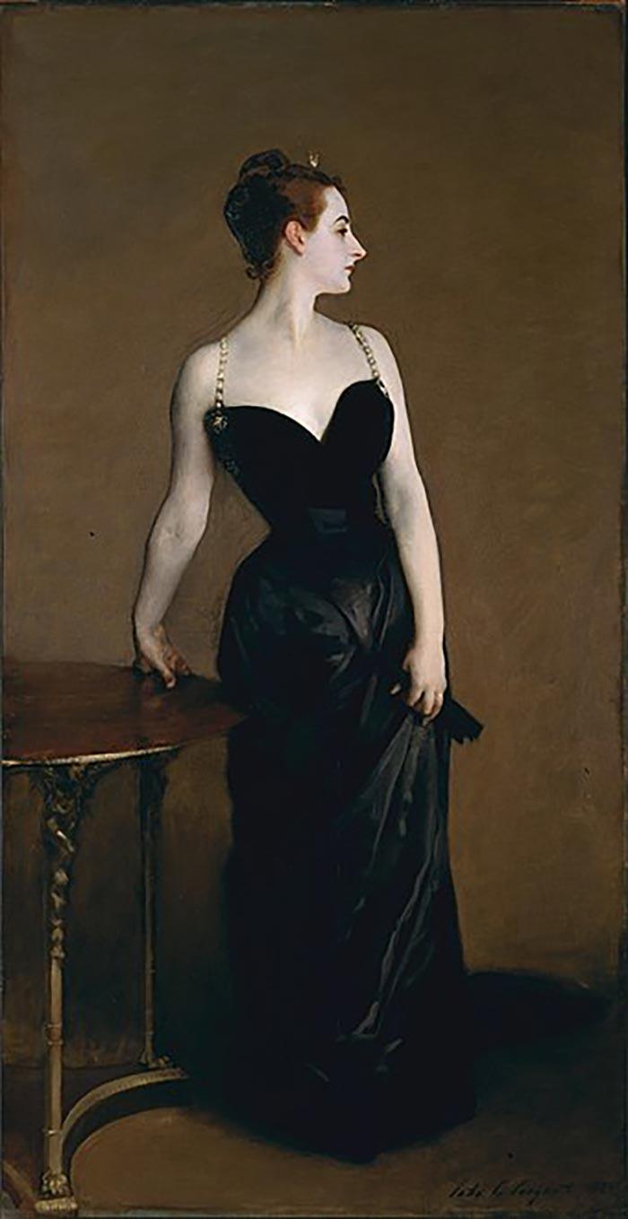John Singer Sargent, Portrait of Madame X (Madame Pierre Gautreau), 1884