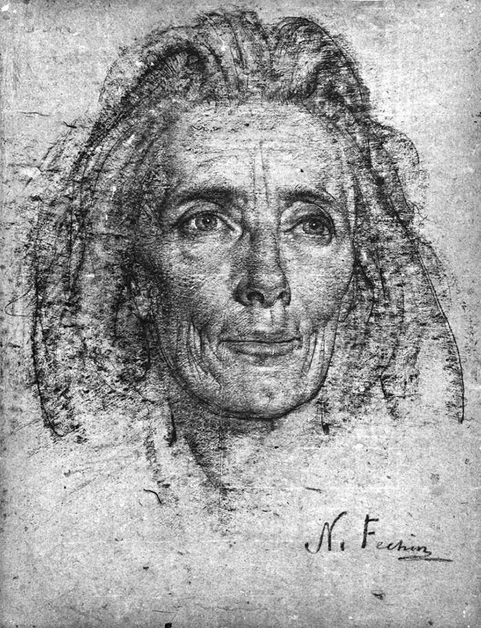 Nicolai Fechin Drawing 3