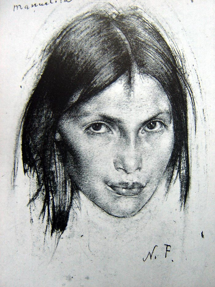Nicolai Fechin Drawing 4
