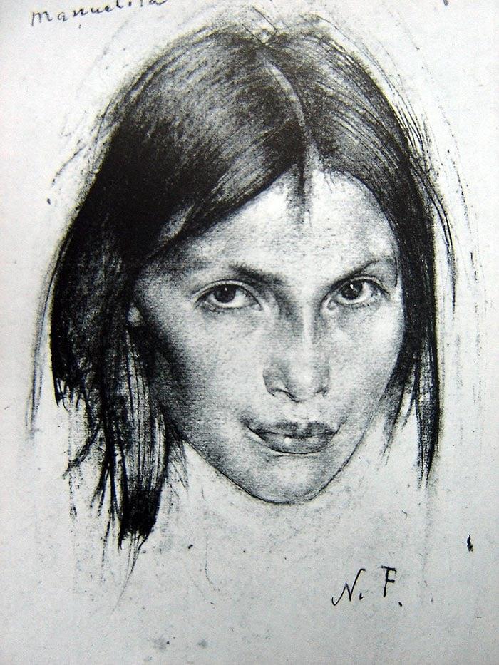 Nicolai Fechin Drawing 4