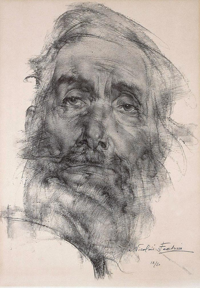 Nicolai Fechin Drawing