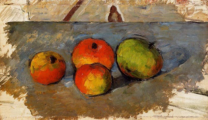 Paul Cézanne, Four Apples, 1881