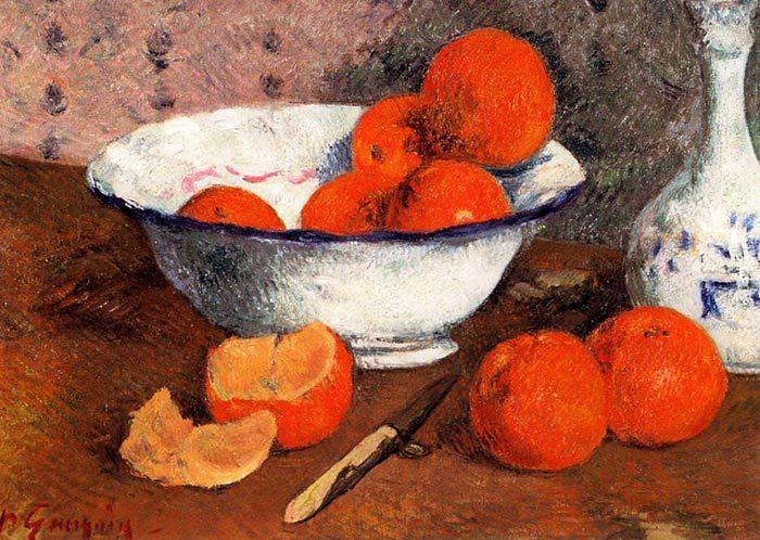 Paul Gauguin, Still Life With Oranges, 1881