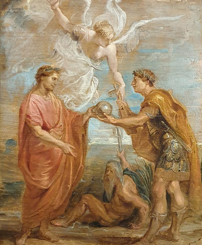 Sir Peter Paul Rubens, Constantius Appoints Constantine as His Successor, 1622