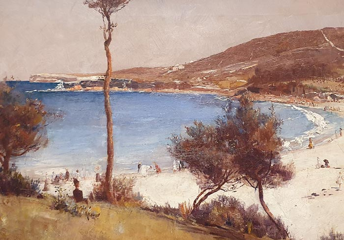 Tom Roberts, Holiday Sketch at Coogee, 1888