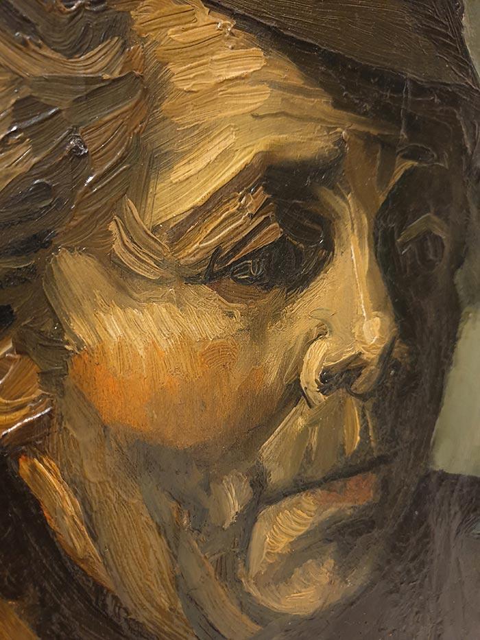 Vincent van Gogh, Head of a Peasant, 1884 (1)