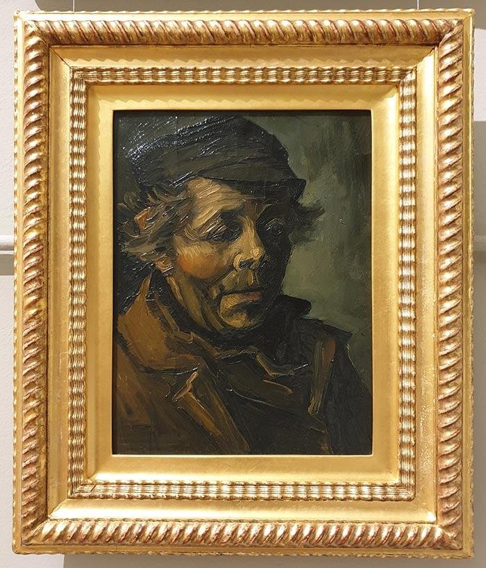 Vincent van Gogh, Head of a Peasant, 1884