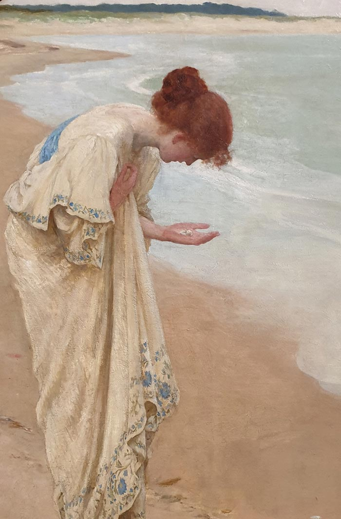 William Henry Margetson, The Sea Hath Its Pearls, 1897