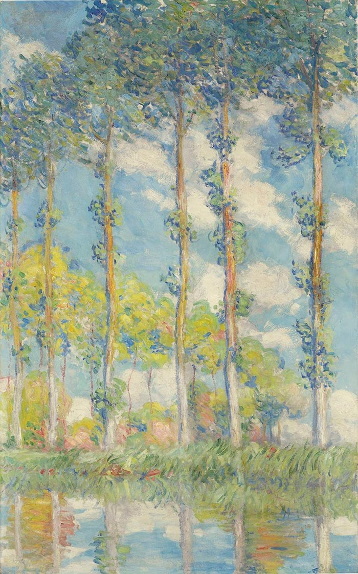 Claude Monet, Poplar, 1891