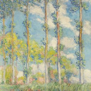 Claude Monet, Poplar, 1891 - Feature