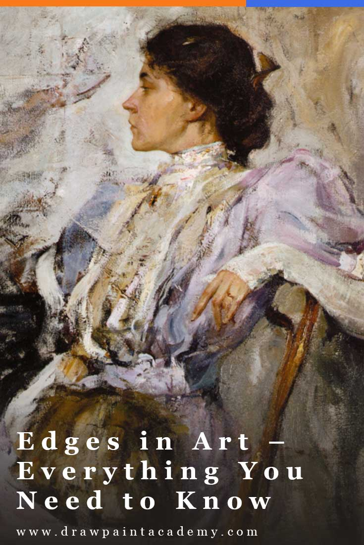 Edges in art refer to the transition between two objects. Most people do not fully appreciate the importance of edges; color and composition usually get all the spotlight. #drawpaintacademy