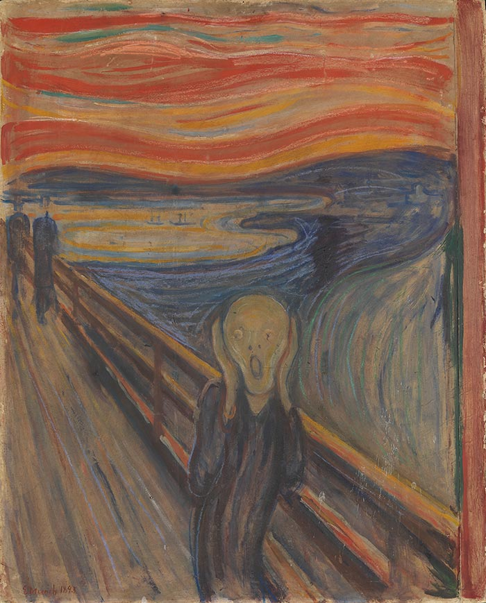 Edvard Munch, The Scream,1893