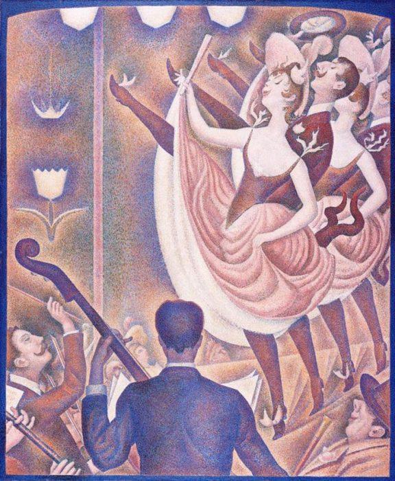 Georges Seurat, Sketch for Cabaret, 1890