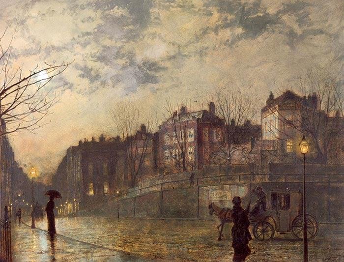 John Atkinson Grimshaw, Hampstead