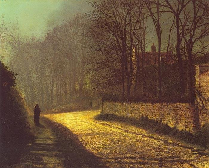 John Atkinson Grimshaw, Lovers