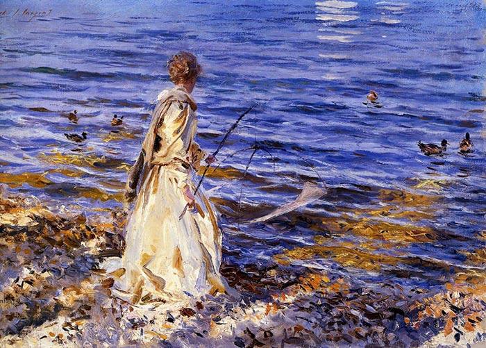 John Singer Sargent, Fisherwoman, 1913