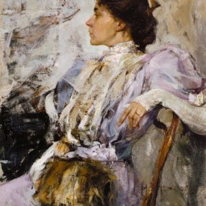 Nicolai Fechin, The Lady in Purple, 1908