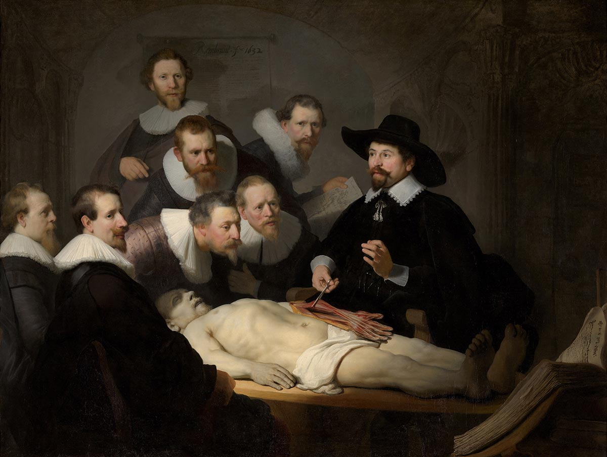 Rembrandt, The Anatomy Lesson of Dr Nicolaes, 1632